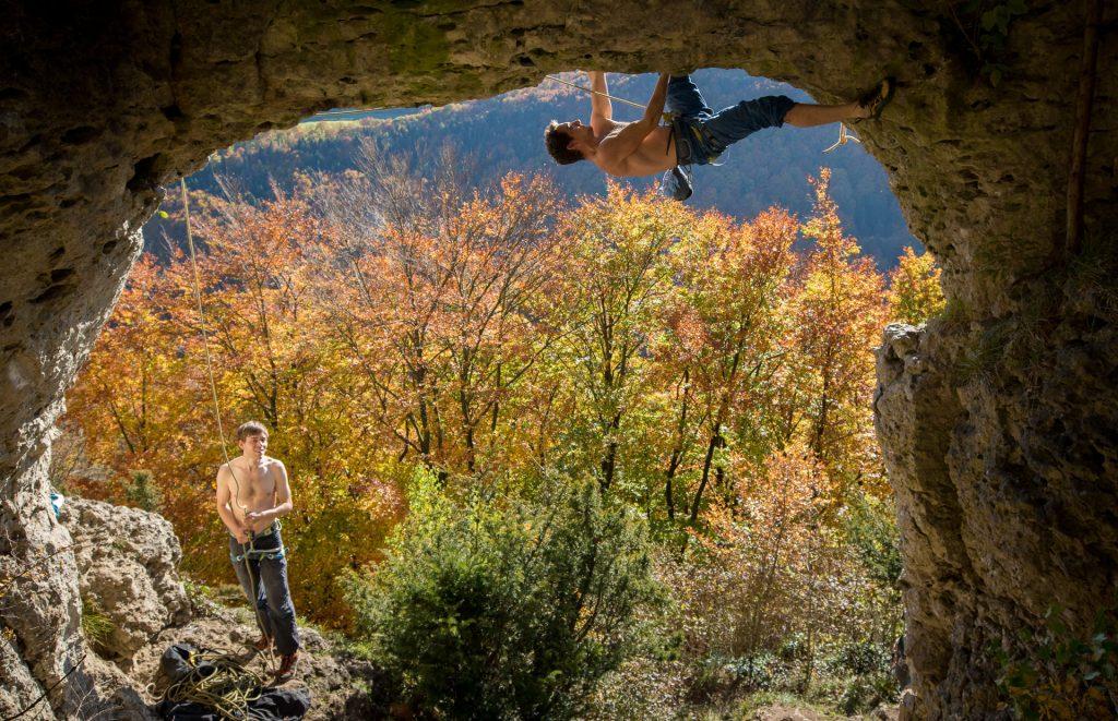 Climbing Frankenjura
